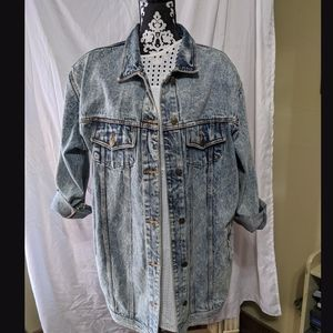 Vintage 90's Acid Wash Grunge Denim…
